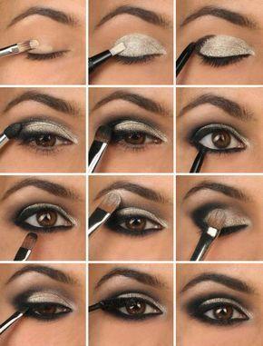 Makeup Smokey Eyes für braune Augen | Mode