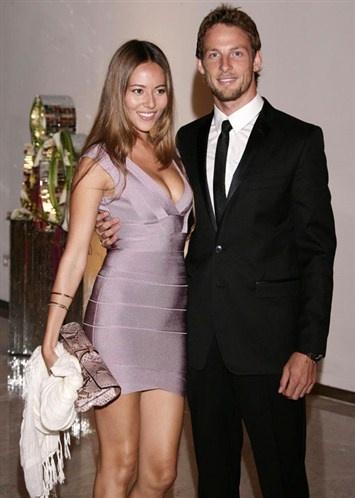 Jessica Michibata & Jenson Button #F1 #Formula1 #SMDriver