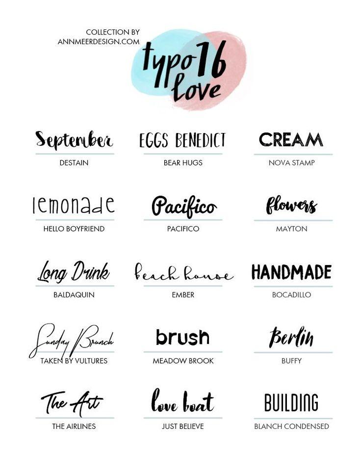 Free Fonts #16