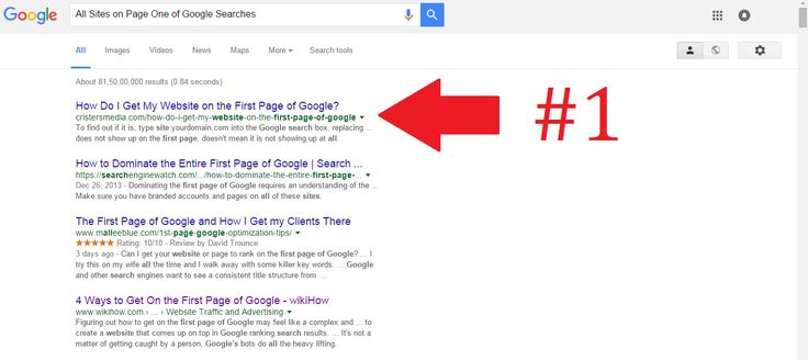 5 Characteristics Common To All Sites On Page One Of Google