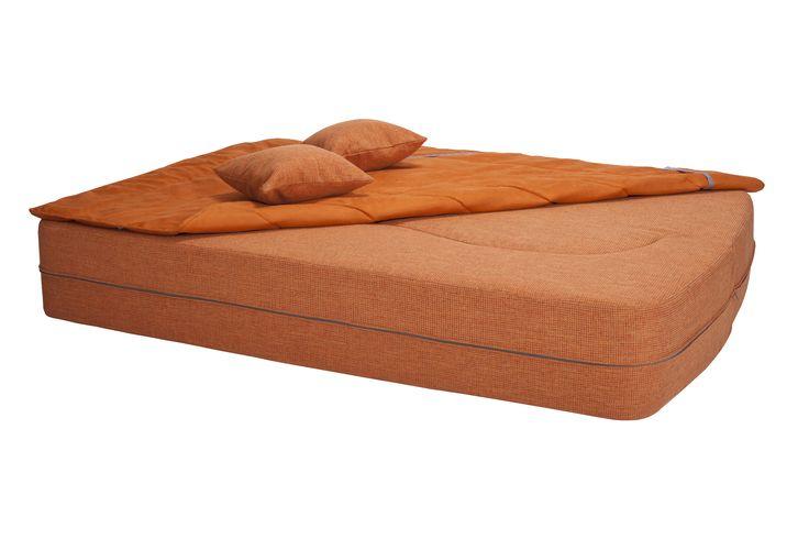Macaron Modular Sofa/ Colour: Orange #modular #sofa #sofabed #cool #comfort #creative #foam #colourful #young