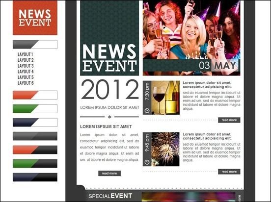 23 best Newsletter Design Ideas images on Pinterest | Email ...