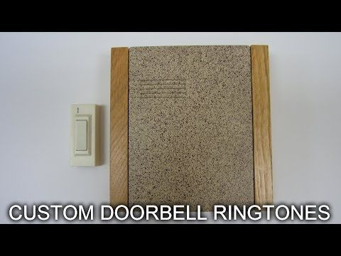 How to Add Custom Ringtones to a Wireless Doorbell