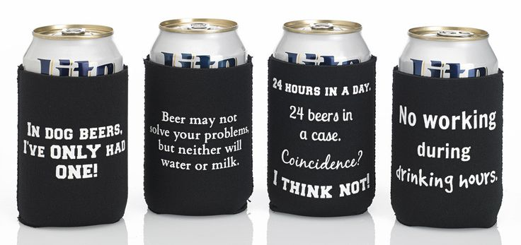 Here's a set of funny beer cozies with hilarious quotes Dad will love.    You'll make him the hit of the party!   $24.99 for a set of 4 premium 3mm neoprene cozies (some people call them Koozies) by My Beer Cozy.    http://mybeercozy.com/collections/4-packs/products/funny-beer-quotes-cozies-set-1