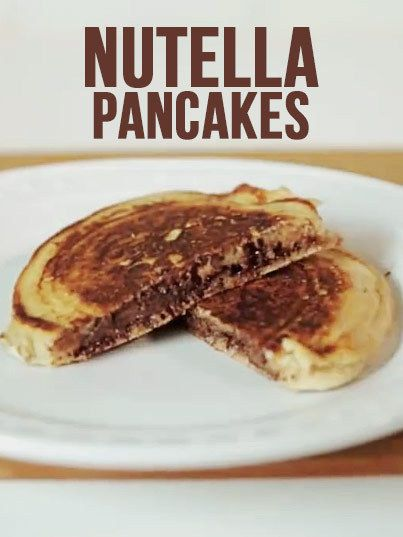 25+ best ideas about Nutella Pancakes on Pinterest | Mini pancakes ...