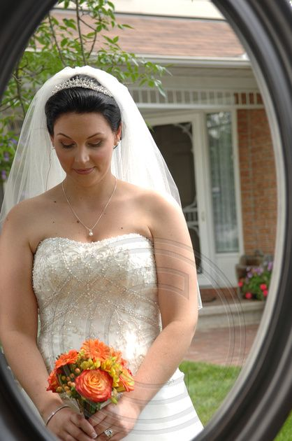 The Bride reflects on her wedding day in Barrhaven, Nepean, Ontario.