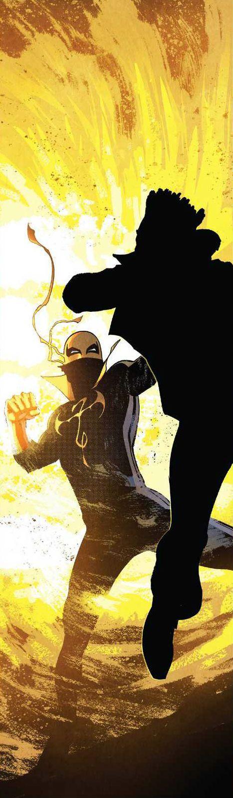 Iron Fist by David Marquez