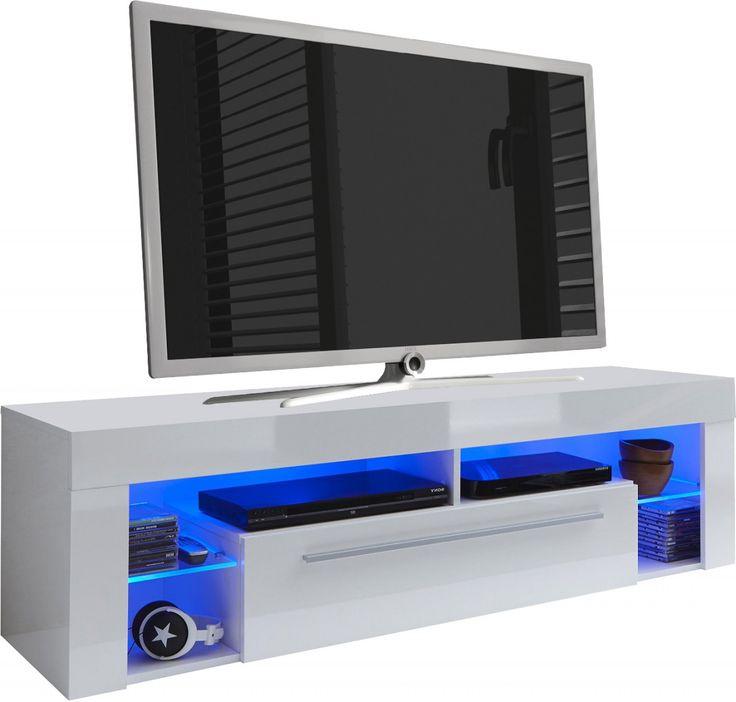 1000 id es sur le th me meuble tv led sur pinterest for Meuble tv ultra fin