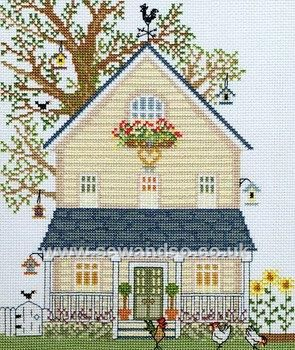 Buy New England Home in Summer Cross Stitch Kit Online at www.sewandso.co.uk