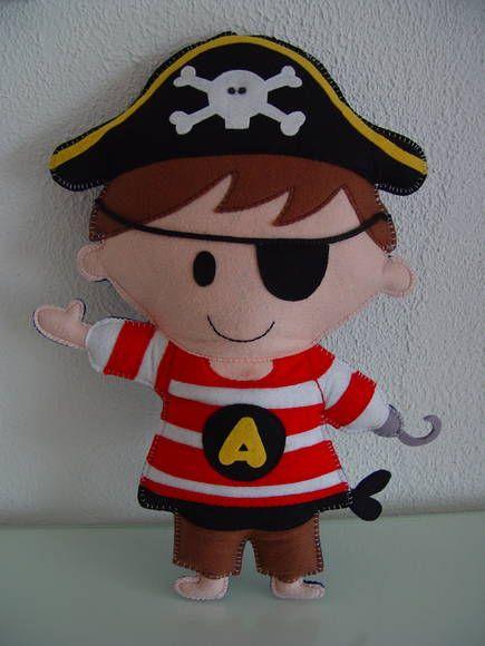 (ALO 0034) Almofada pirata | PIPEeGUCA decoração infantil,móveis,enxoval,lembrancinhas nascimento,aniversário,quadros,pipe e guca | 2E786D - Elo7