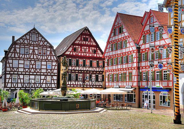 Fachwerkhäuser   Celle   Niedersachsen