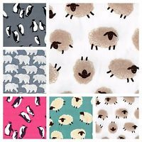 CRAFT/PATCHWORK FABRIC COTTON TWILL ANIMAL DESIGNS 100% COTTON