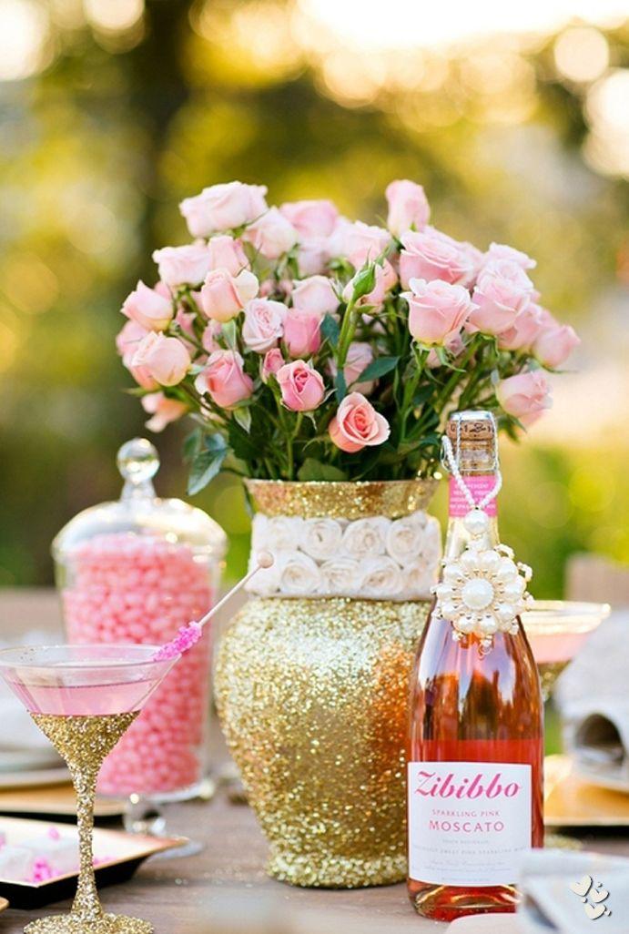 Marie Antoinette party decor ❤