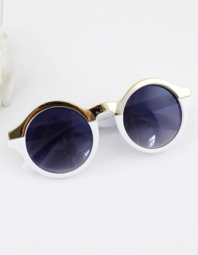 Round Design Colorful Fashion New Arrivals Summer Women Sunglasses 9.26