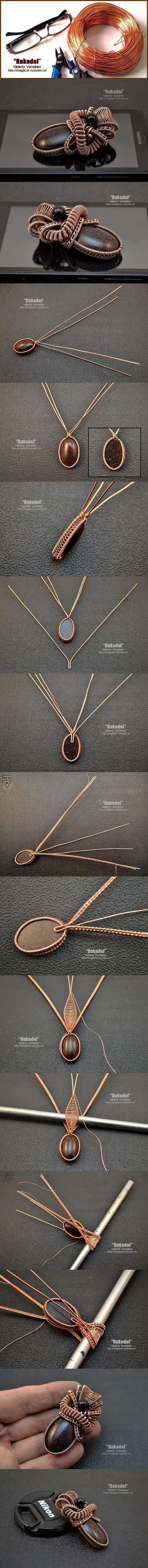992 best jewelry tutorials images on Pinterest | Wire jewelry, Wire ...