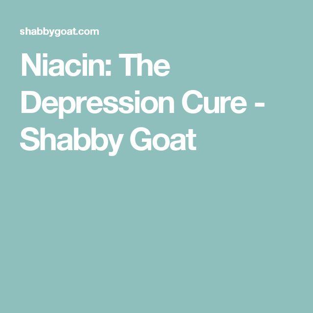 Niacin: The Depression Cure - Shabby Goat