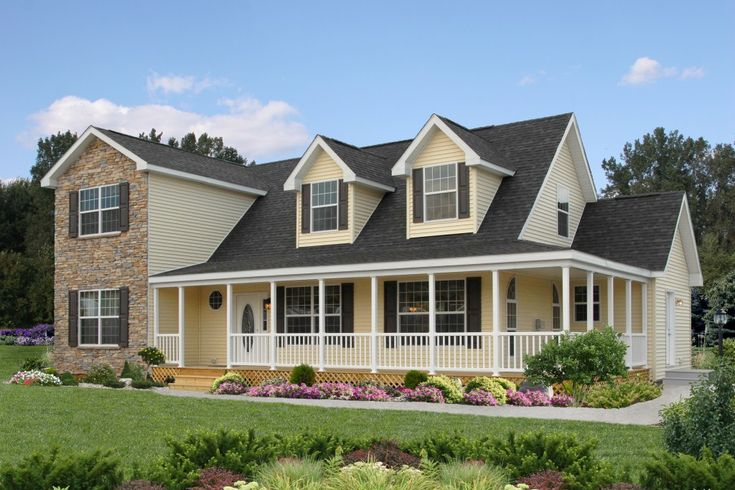 Do It Yourself Home Design: Ridgefield HK101A - Pennwest 2-Story Modular Home