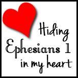 Hiding Ephesians in My Heart - Creative Home Keeper