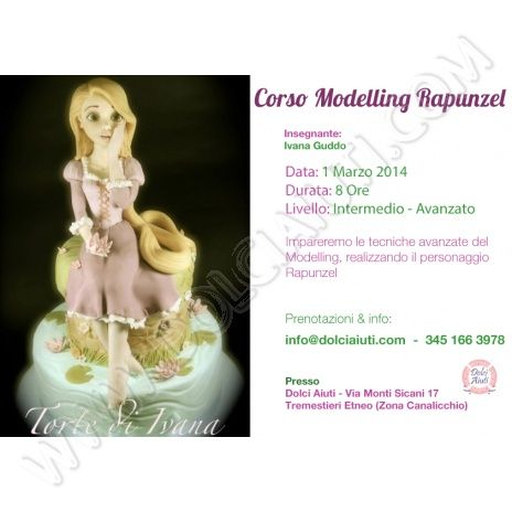 corso cake design catania rapunzel