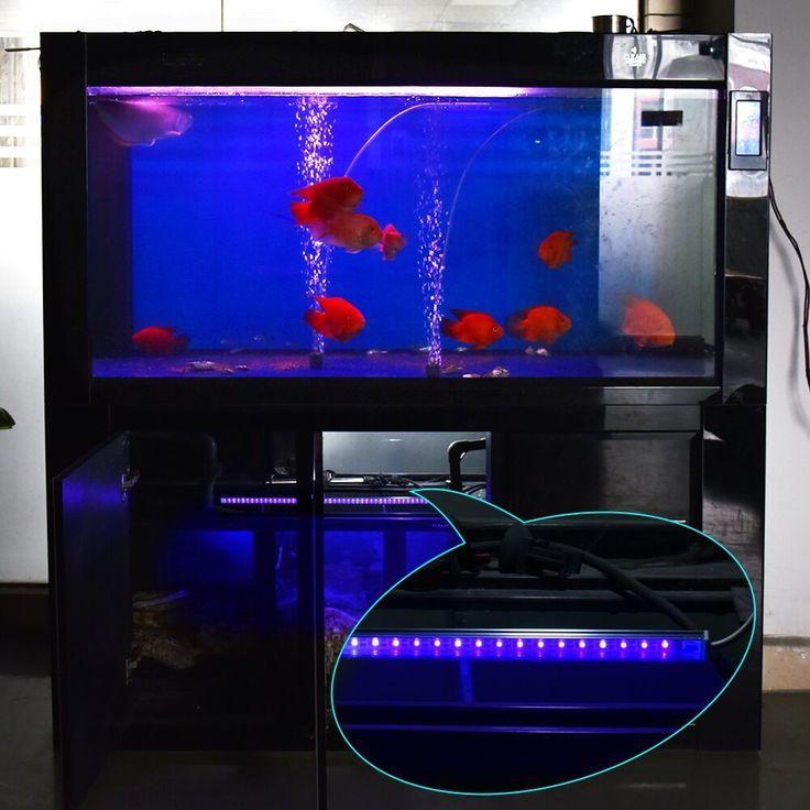 USB LED Streifen Licht 5V Aquarium Filter Wasserreiniger UV Sterilisator Lampe