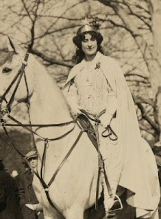 Inez Milholland at the March 3, 1913, Suffrage Parade.