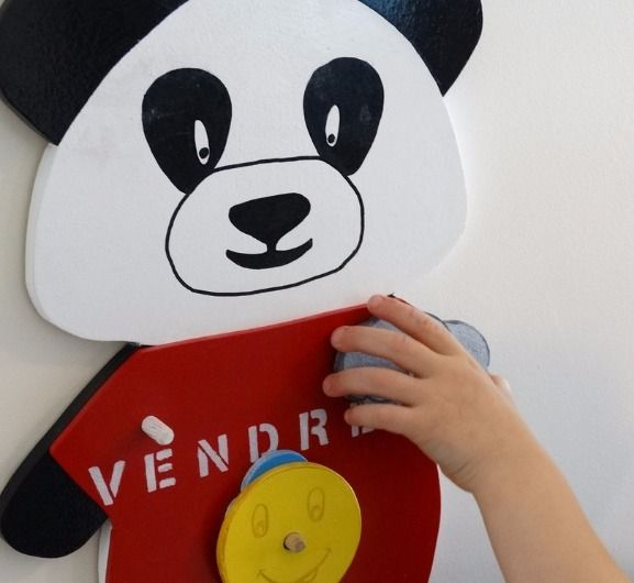 création personnalisée panneau panda météo