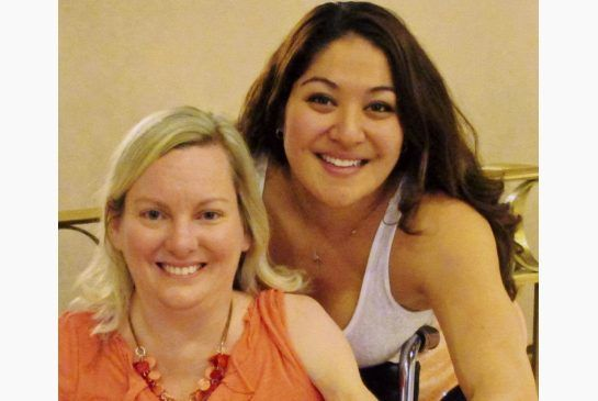 Canadian Olympic hurdler Priscilla Lopes-Schliep and Jill Viles of Iowa got together in Toronto, where Viles convinced her to get genetic testing. (january 28 2016)