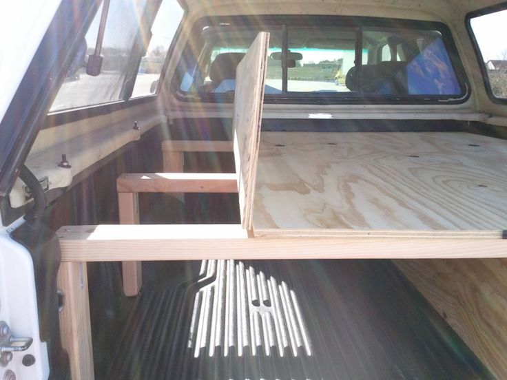 truck bed sleeping platform 4 - Ideas About Truck Bed Camping On Pinterest Camper