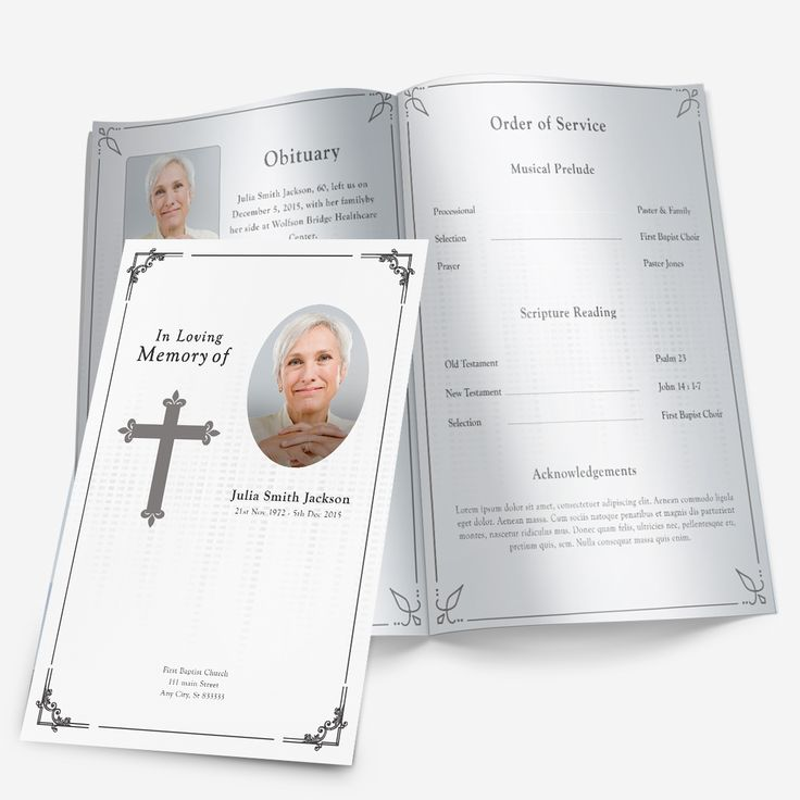 15 best events images on Pinterest Funeral planning, Memorial - celebration of life templates
