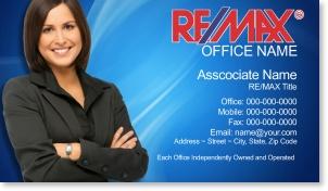Real Estate Broker Business Cards for Remax | Real estate ...