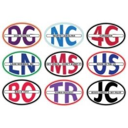UK?s leading sticker printing company offer oval car stickers at cheap price along with free shipping in al over the UK.  http://www.stickerprinting.co.uk/Car-Stickers/Oval-Car-Stickers