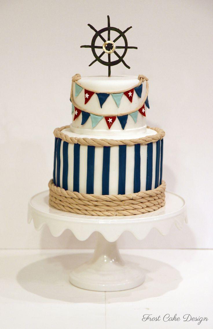 Nautical Cake Decorations Uk : The 25+ best Nautical cake ideas on Pinterest Sailor ...
