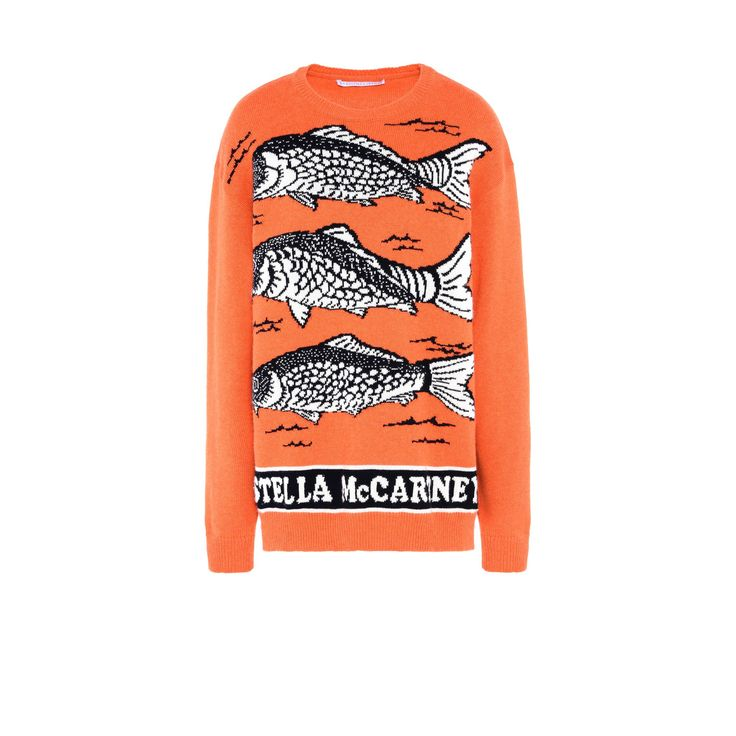 Shop the Fishes Intarsia Jumper by Stella Mccartney at the official online store. Discover all product information.