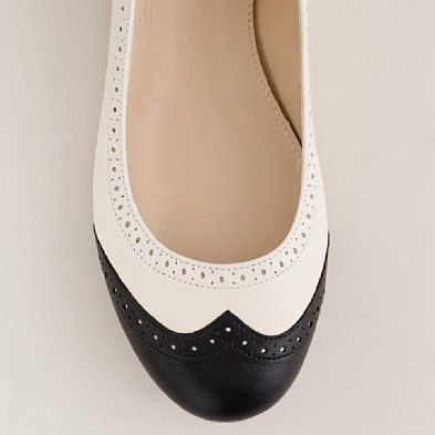 oxford ballet flats (OH MY WANT!)
