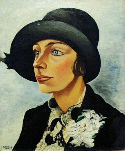 Charley Toorop (1891-1955) was een Nederlandse schilder en lithograaf. Zij maakte vanaf 1916 deel uit van de kunstenaarsgroep Het Signaal, die een diepe beleving van de werkelijkheid voorstond door kleuren en lijnen zwaar aan te zetten en felle kleurcontrasten aan te brengen. Ze wordt mede daarom ook wel gerekend tot de Bergense School. Vanaf de jaren 30 schilderde ze veel vrouwenfiguren, ook naakten en zelfportretten in een krachtige, realistische stijl