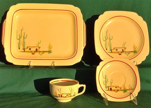 Homer Laughlin Arizona pattern! I want! : western dinnerware patterns - pezcame.com