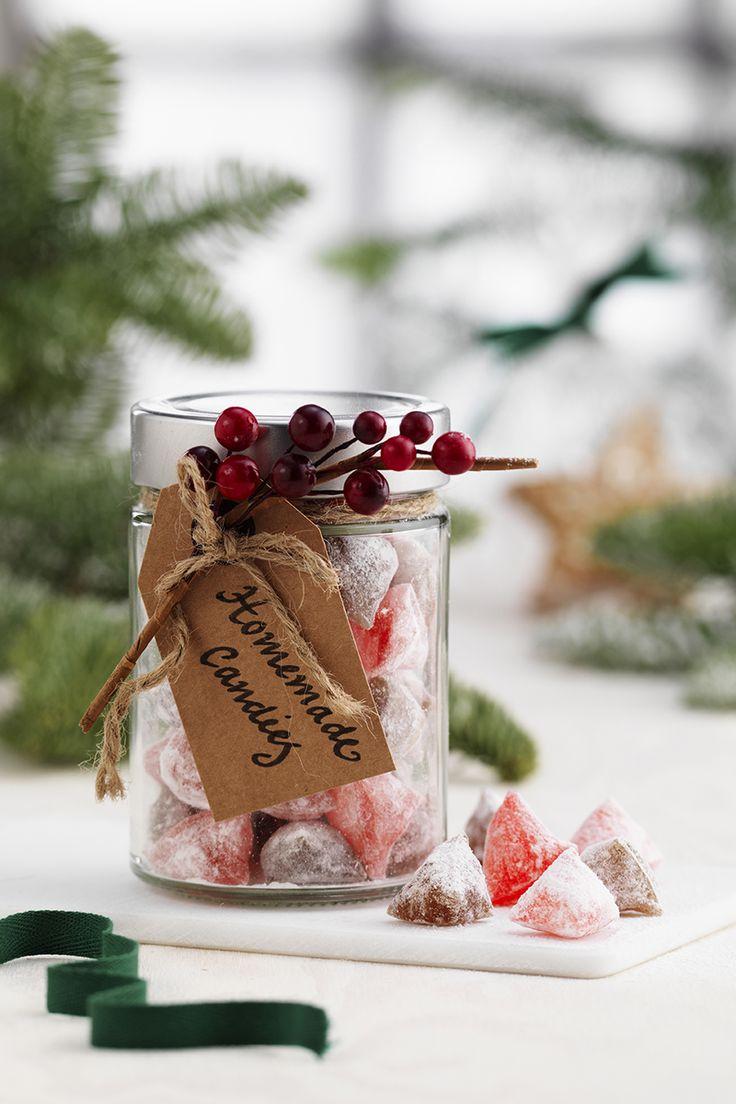 Homemade Candy www.pandurohobby.com Christmas Sweets by Panduro #christmas #decoration #DIY #sweets #scandinavian #nordic