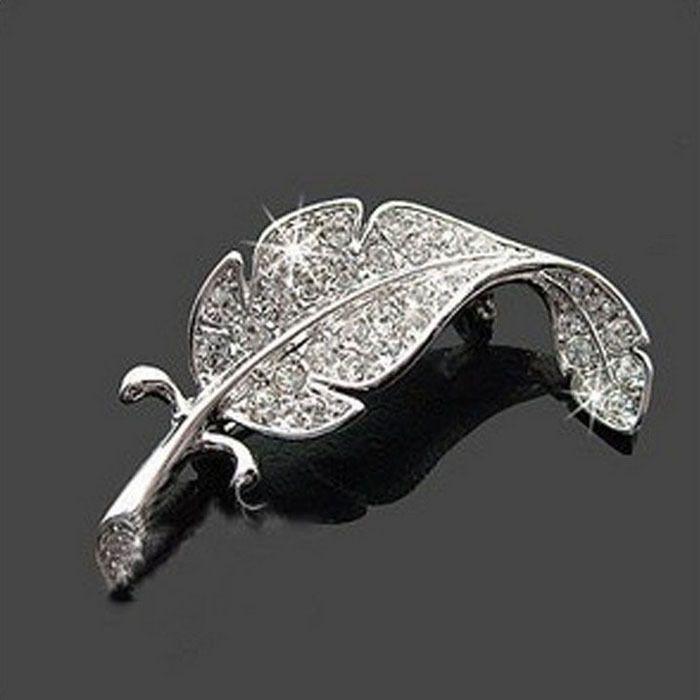 d786b4fd2ff 1.45AUD - Retro Vintage Cute Beautiful Feather Leaf Mini Cute Brooch Pin  Salable #ebay #Fashion | Products | Crystal brooch, Wholesale jewelry,  Brooch