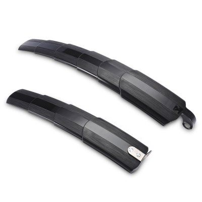 Just US$9.42 + free shipping, buy Mountain Bike Front Rear Extendable Mudguard Fender Set online shopping at GearBest.com.