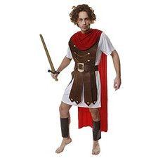 Disfraz General Romano. Soldado romano centurión espartano griego clásico. Carnaval Halloween