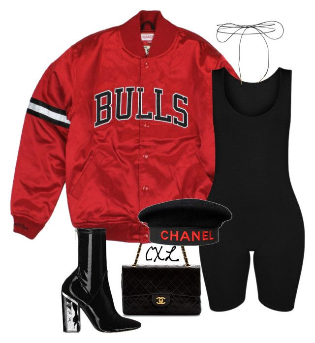 """""""Untitled #68"""" by clynnstyle on Polyvore featuring Chanel and Lilou"""