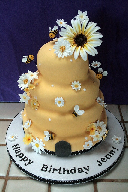bumblebee gluten free cake by The Cake Boutique, via Flickr