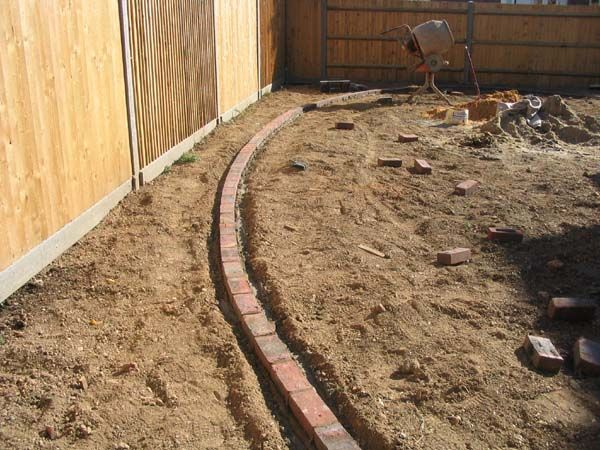 Top 13 ideas about my yard on pinterest garden border for Edging to keep mulch off sidewalk