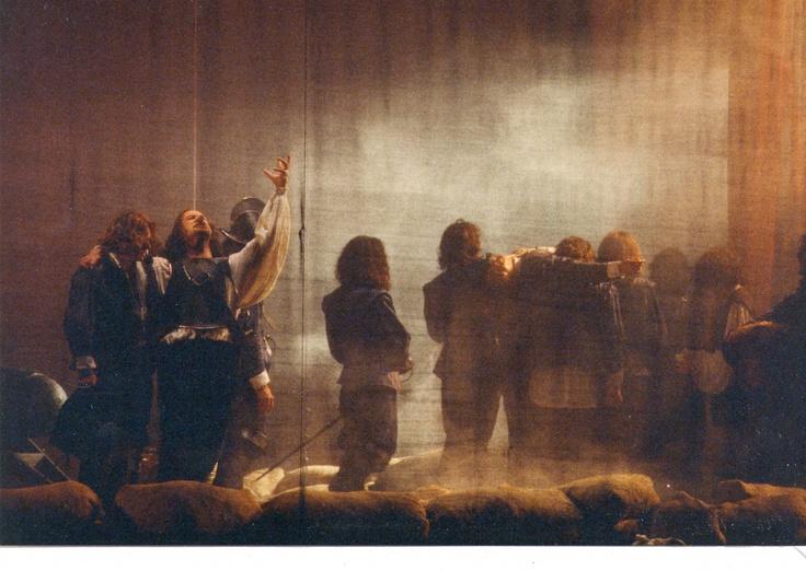 Cirano di Bergerac di Edmond Rostand. regia di Peppino Patroni Griffi con Sebastiano Lo Monaco, Marina Biondi