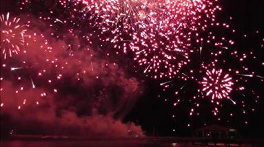 Great Finale - wedding fireworks Brisbane