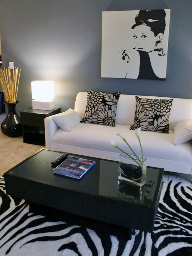 Be Inspired 6 Stylish Carpets And Area Rugs Apartment Living RoomsApartment IdeasZebra