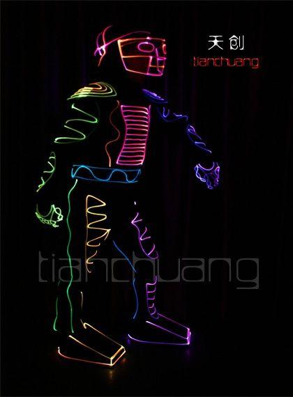 Tianchuang LED Light Fiber Optic Robot