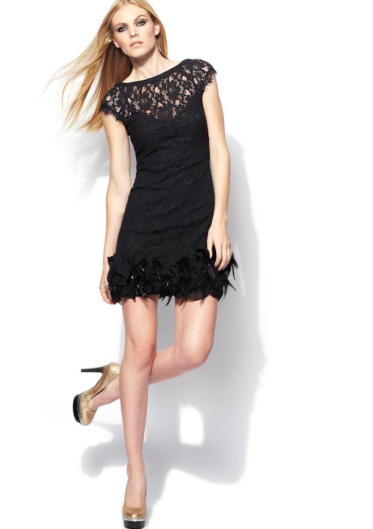Perfect Little Black Dress Jessica Simpson Cap Sleeve