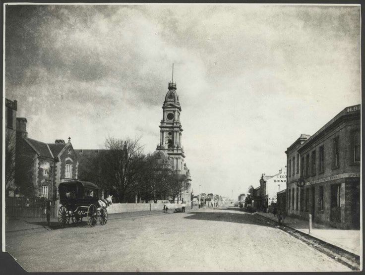 Hoddle St,Collingwood in Victoria in 1886.