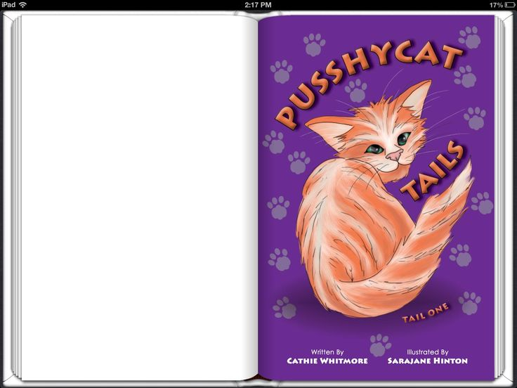 Pusshycat Tails- Chapter book suitable for children 7-11. An eBook version of the printed book. Available through iTunes and leading eBook retailers.